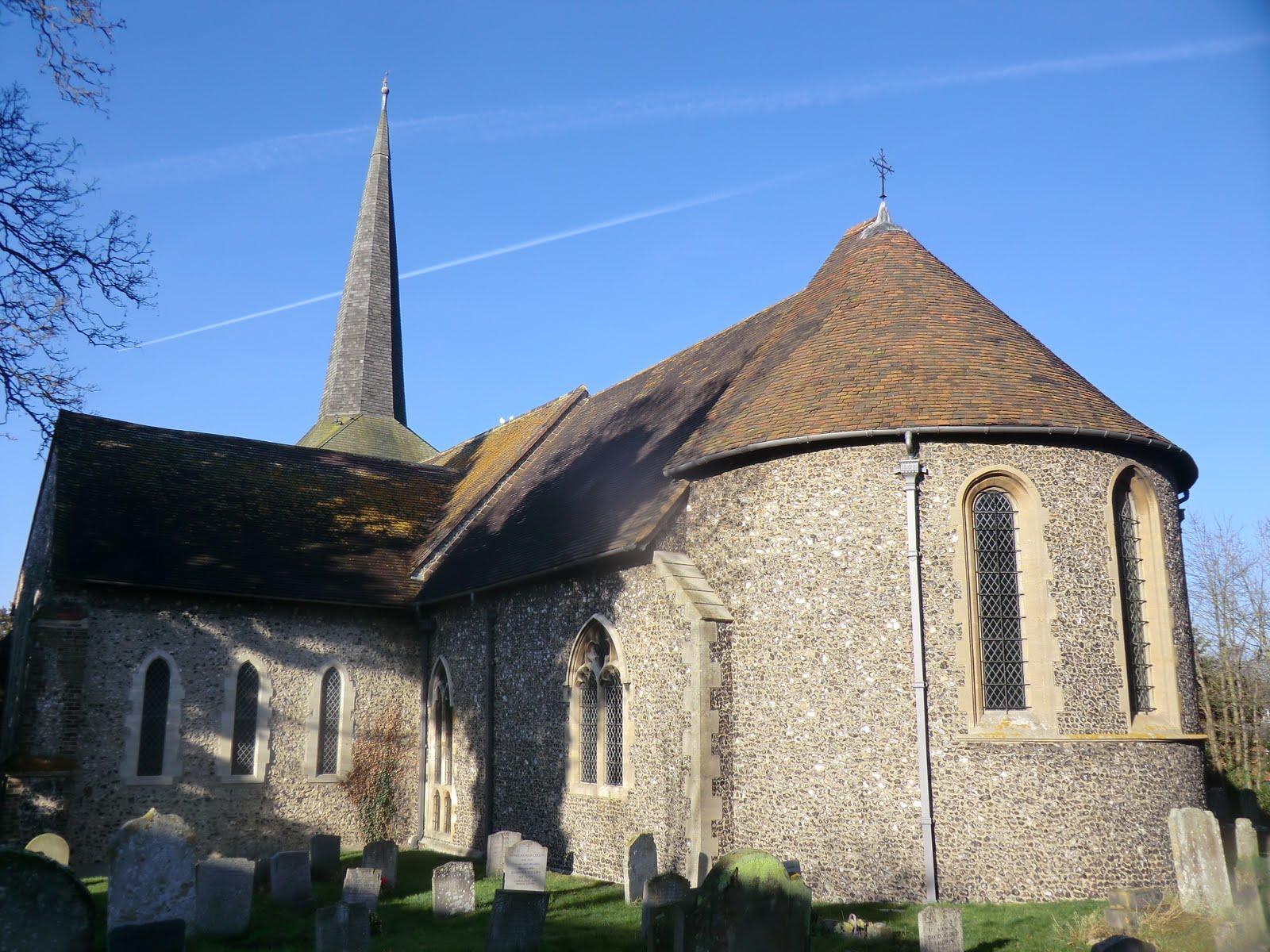 CIMG8341 St Martin's church, Eynsford