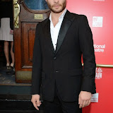 WWW.ENTSIMAGES.COM -  Ed Westwick   arriving  at     Great Britain - press night at Theatre Royal Haymarket, London September 26th 2014West End Opening at Theatre Royal Haymarket for Richard Bean's GREAT BRITAIN -  Play about an ambitious tabloid editor in production described as anarchic satire about the press, the police and the political establishment.                                                    Photo Mobis Photos/OIC 0203 174 1069