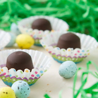 Healthier Easter Hazelnut Chocolate Truffles