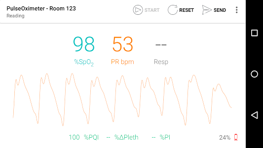 PulseOximeter screenshot 0