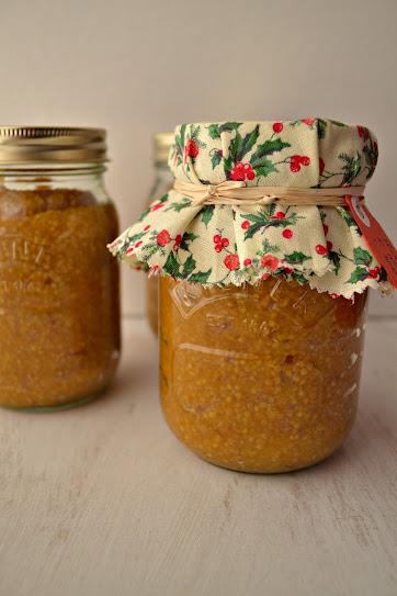 Apricot bourbon mustard