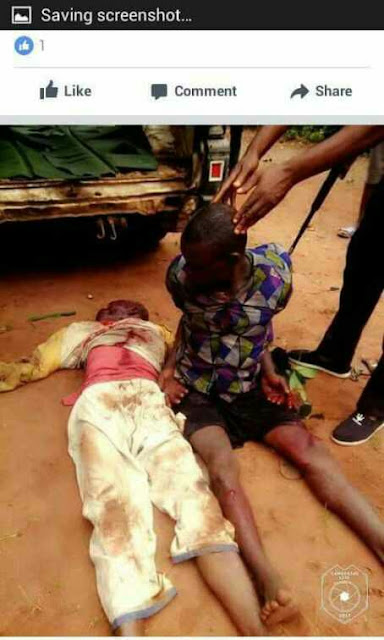 Igbo man stabs father to death over misunderstanding in Anambra (Graphic)