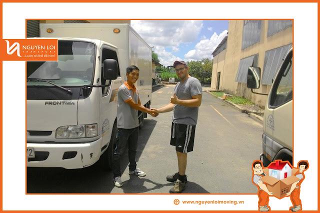 Dịch vụ thuê xe tải tại TPHCM