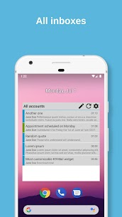 K-9 Mail Widget 1.6.3 MOD for Android 2