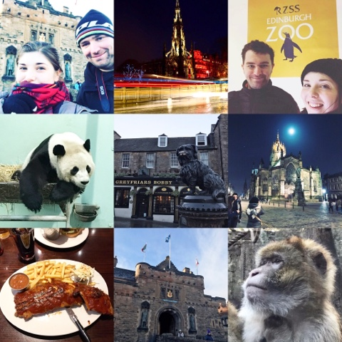 Edinburgh through my Iphone 7