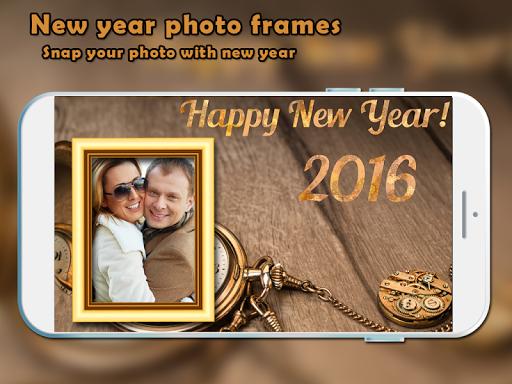 New Year Eve Photo Frame