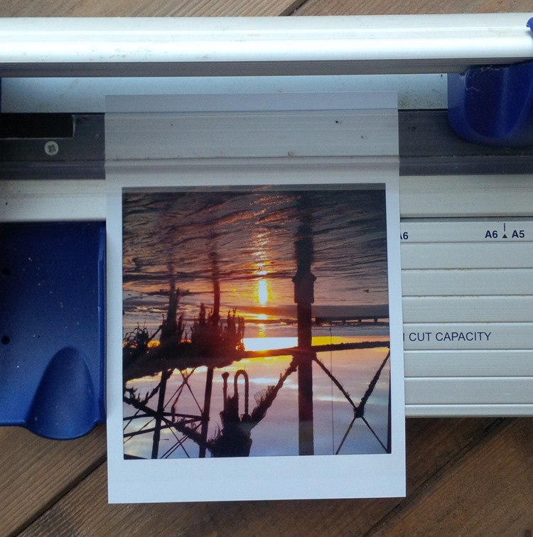 resizing photos to make polaroids