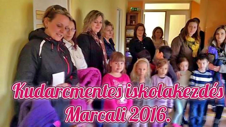 Kudarcmentes iskolakezdés Marcali 2016