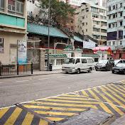 Man Mo Temple, Hollywood Road. Построен в 1847 - редкий пример долгоживущей постройки в Гонконге.