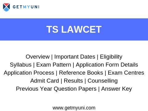 TS LAWCET - Dates, Registration, Admit Card, Results