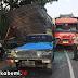 Tabrakan Beruntun di Ruas Jalan Sukabumi - Bogor