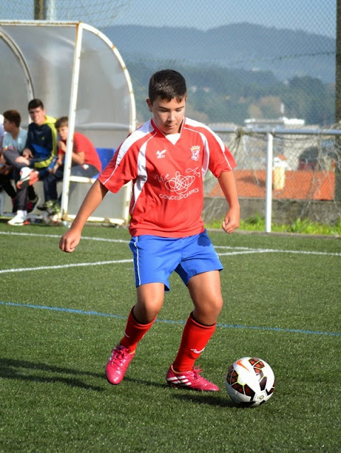 JOSEMA defensa infantil do Numancia de Ares