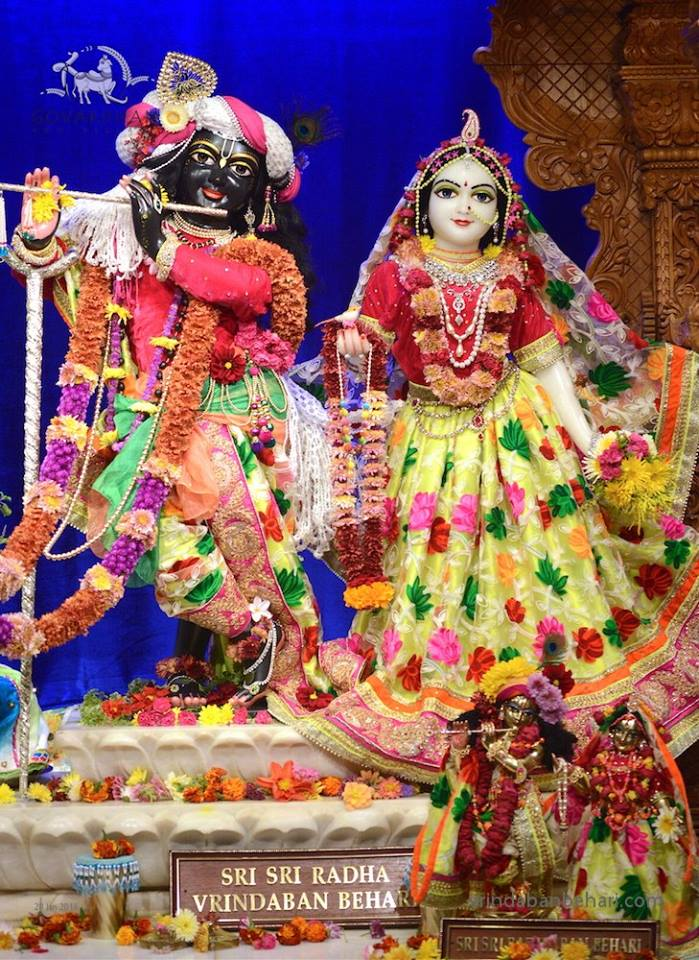 ISKCON GEV (Wada) Deity Darshan 28 Jan 2016 (6)