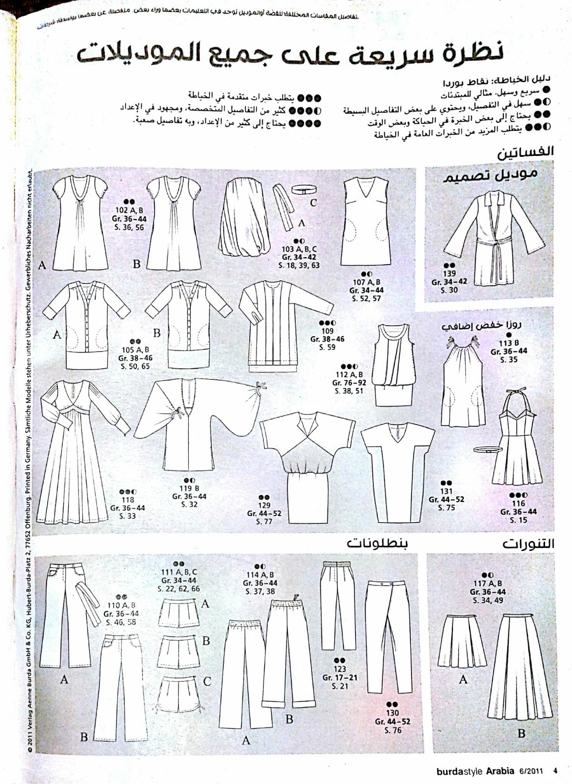 817660b811ede ارشادات بوردا مع طريقة اخذ المقاسات بالعربي ~ تعليم خياطة-Learn sewing