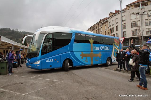 Autocar del Real Oviedo