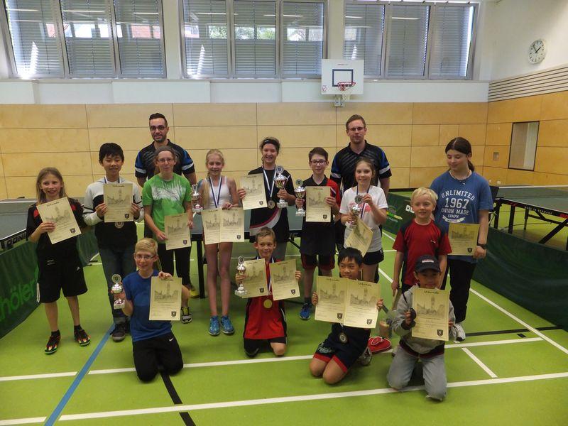 Vereinsmeisterschaften 2016: Kinder und Jugendliche