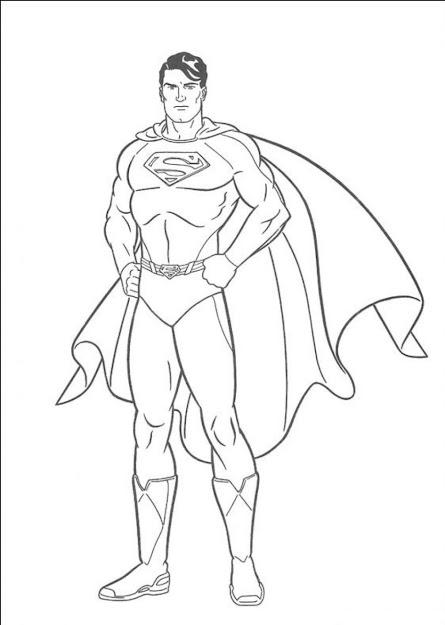 Superman Coloring Page Superman Coloring Pages To Download And Print For  Free Gallery Coloring Ideas