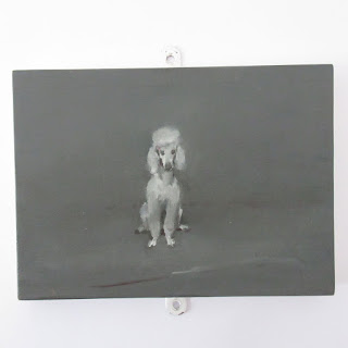 Miguel Branco Signed Miniature Poodle Painting