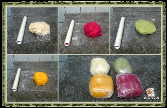 Nhoque de batata colorido 4