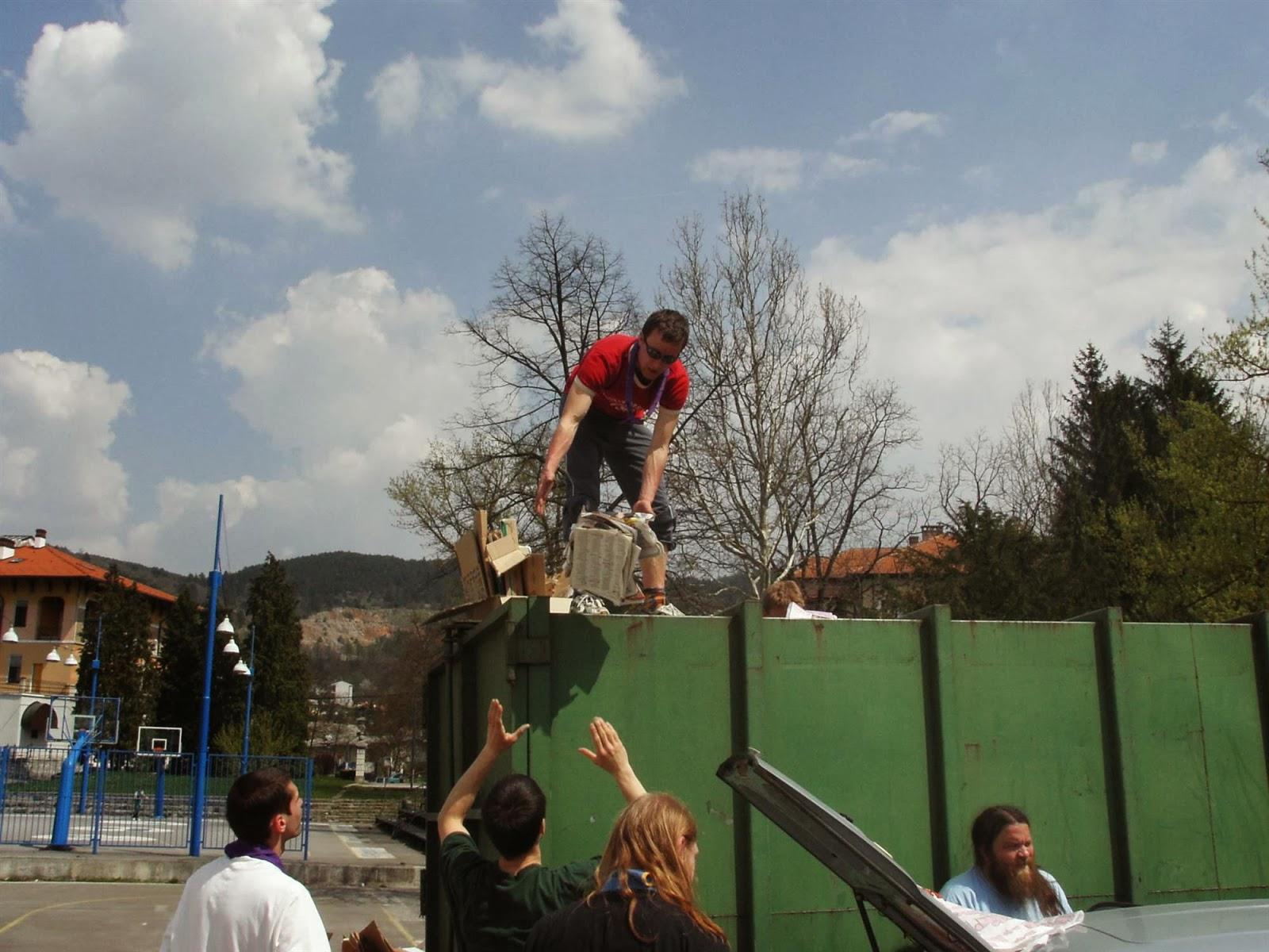 Zbiranje papirja, Ilirska Bistrica 2006 - KIF_8443.JPG