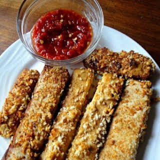 Crunchy Tofu Sticks.