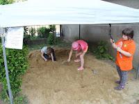 21 Régészeti ásatás az ipolysági múzeum udvarán.JPG