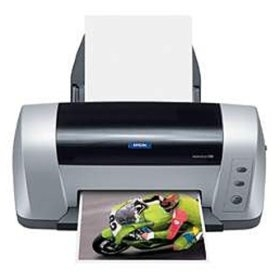 How to reset flashing lights for Epson C82 printer