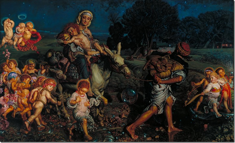 Unschuldige Kinder William_Holman_Hunt_-_The_Triumph_of_the_Innocents_-_Google_Art_Project