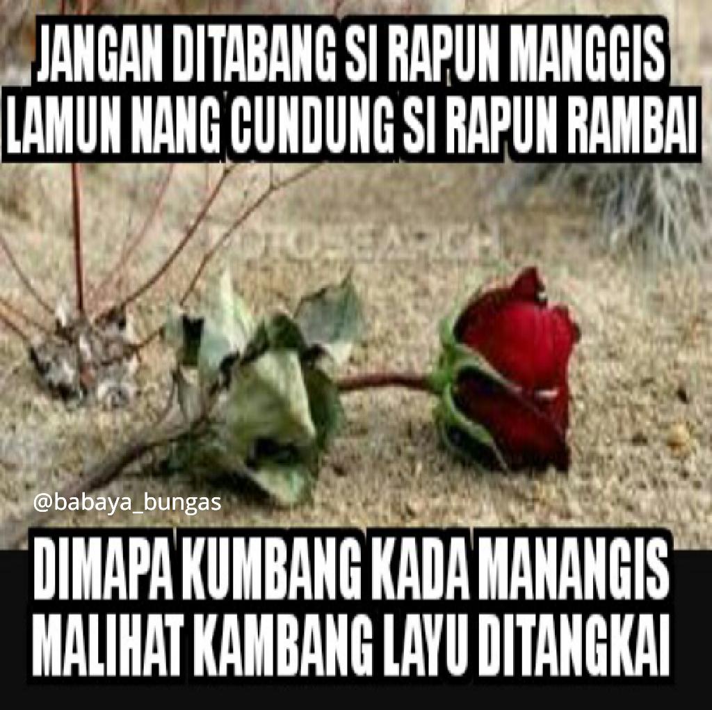 Babaya Bungas Dp BBM Pantun Bahasa Banjar