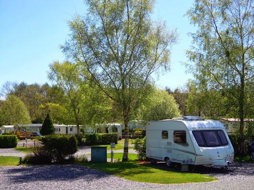 Camping  at TYDDYN LLWYN CARAVAN PARK