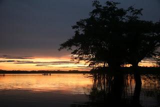 Sanjska laguna v parku Cuyabeno