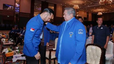 Polemik Demokrat!, Teddy Gusnaidi Ingatkan : SBY dan AHY Jantan Hadapi Masalah