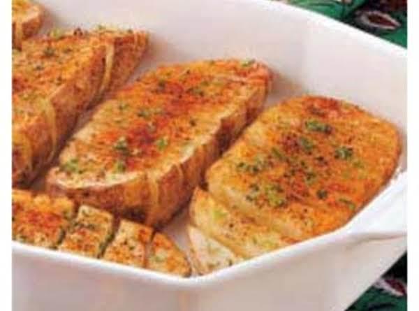 Scored Baked Potatoes Recipe