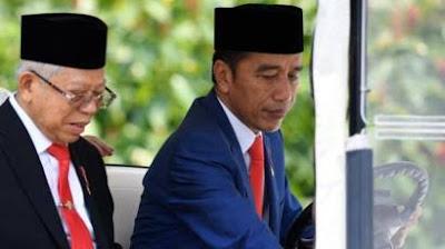 Maruf Amin Seperti Ada di Dalam Bayang-bayang Jokowi