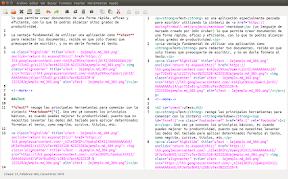 uText editor de texto markdown, html