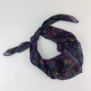 Givenchy Floral  Silk Scarf