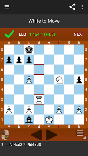 Fun Chess Puzzles Free (Tactics) 2.4.4 screenshots 4