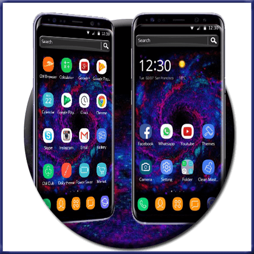 Starry Sky Theme for S8