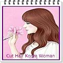 Hair Style Korea Woman icon