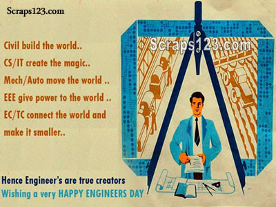 Happy Engineers Day  Image - 3