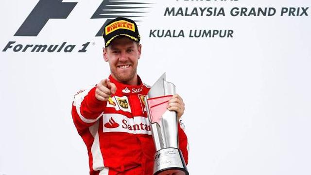 Sebastian Vettel venceu o Grande Prémio da Malásia