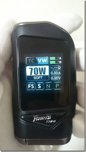 DSC 0266 thumb%255B1%255D - 【MOD】「Hcigar Towis T180タッチ液晶BOX MOD レビュー【MOD/VAPE/テクニカル】