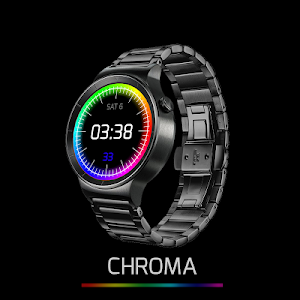 Chroma Watch face screenshot 0