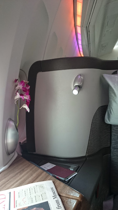 DSC 2869 - REVIEW - Cathay Pacific : First Class - Hong Kong to Tokyo (B747)