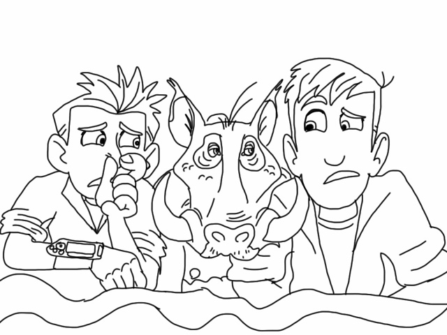 wild kratts coloring pages printable - photo#13