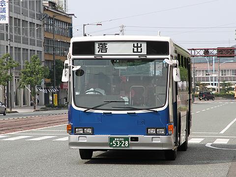 JR四国バス 松山高知急行線 5328 大手町到着
