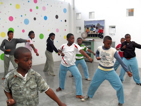 Khayelitsha youth participate in karate classes