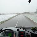 snježno jutro na polasku iz Jaske
