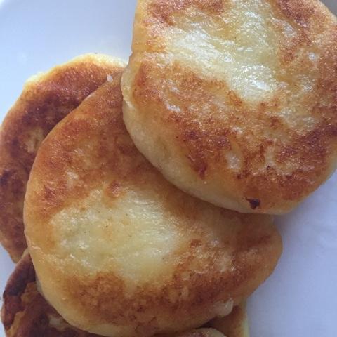 Kartoffelküchlein aus Kartoffelresten