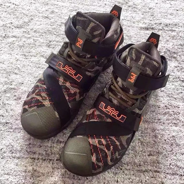 the best attitude 50620 18447 Nike Goes Back to the Roots with Camo Zoom LeBron Soldier 9 ...
